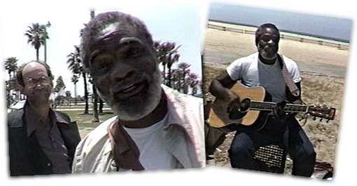 Ted Hawkins made his home part time in Venice Beach California as a relatively unknown street performer and part time in Europe where he achieved some level of fame and recognition.