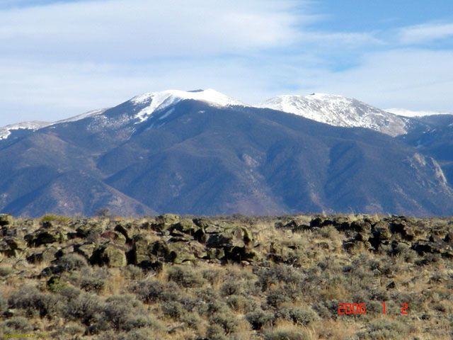 Sunshine Valley mountain views, Taos County, Mew Mexico