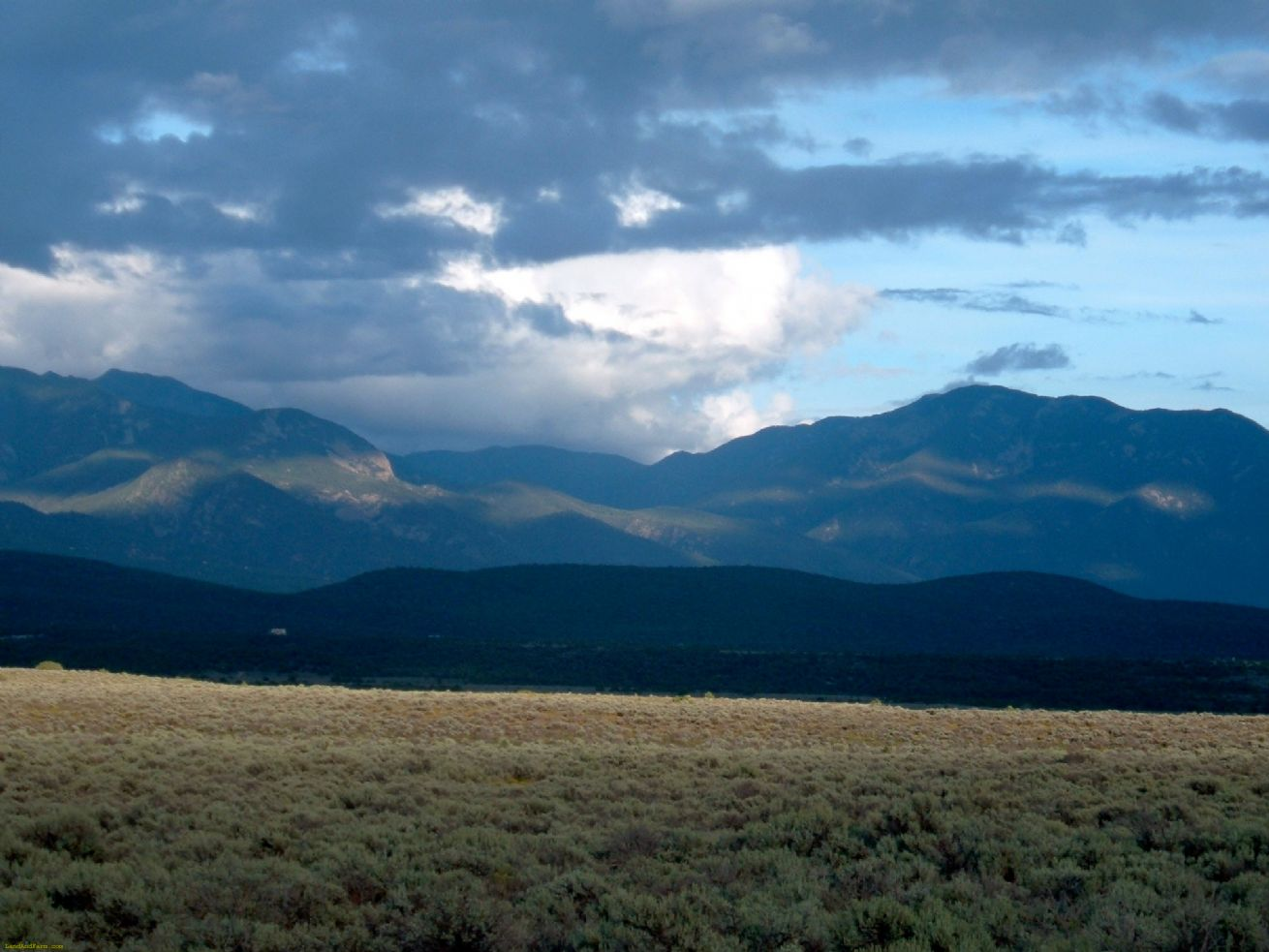 Taos County land for sale bordering the Rio Grande Gorge
