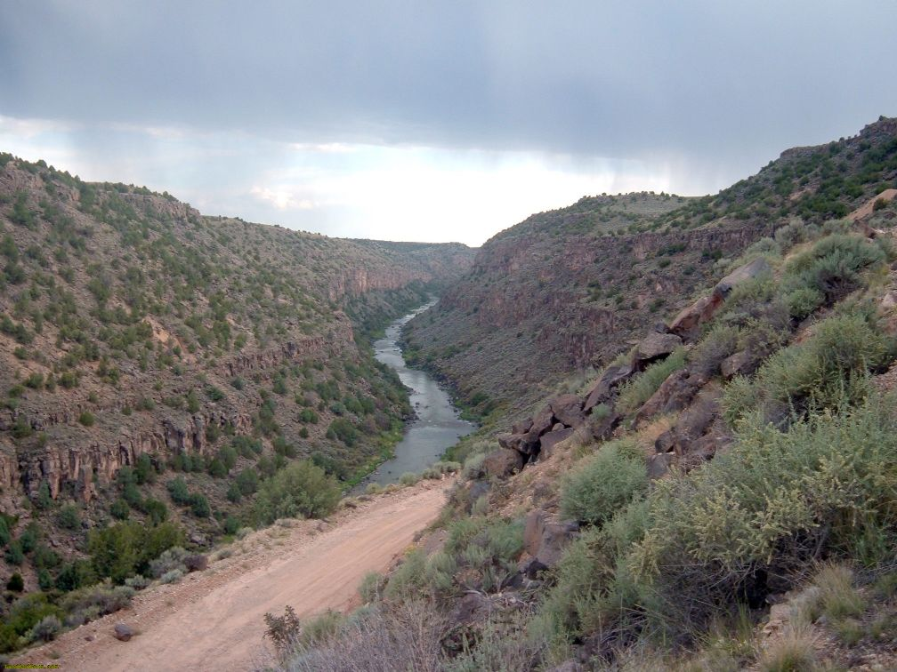 Taos County land for sale overlooking the Rio Grande Gorge