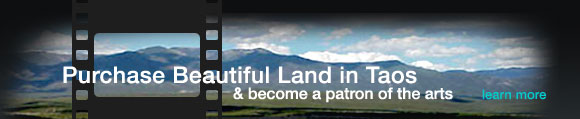 Purchase land in Taos, and become a patron of the arts!